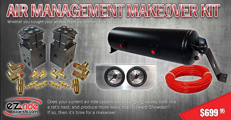 Check out the EZ Air Ride Air Management Makeover Kit